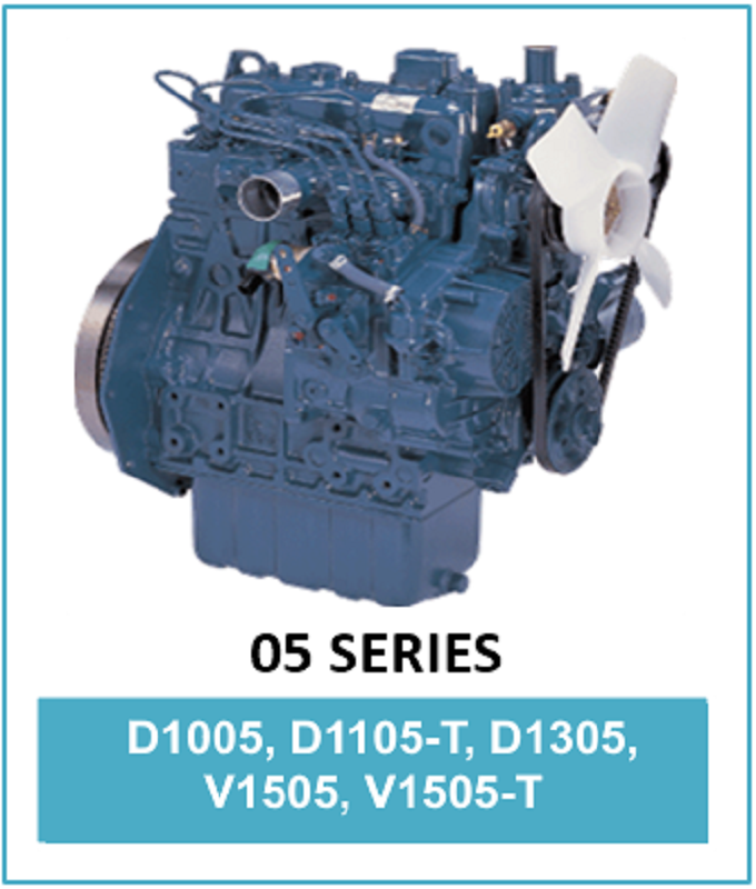 Motor diesel Kubota STD